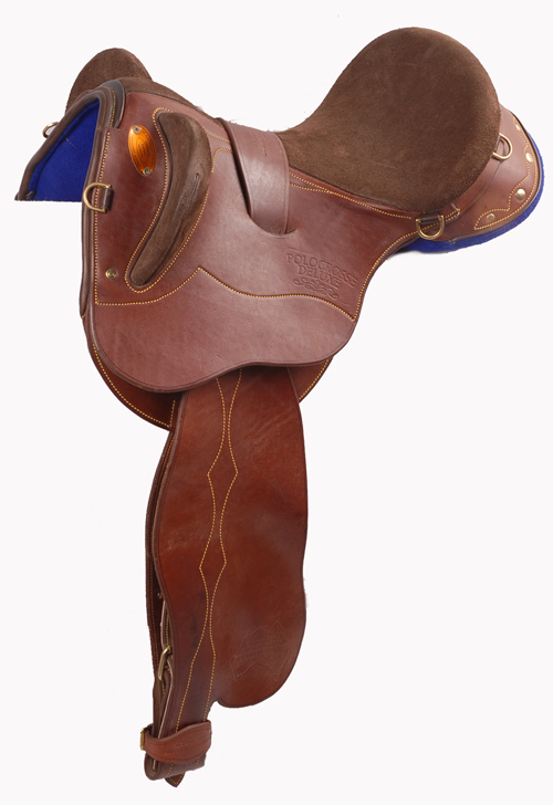 Polocrosse deluxe saddle