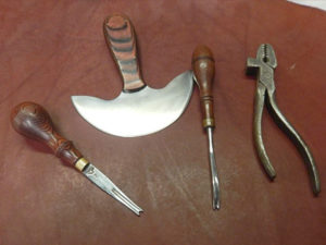 leather work tools